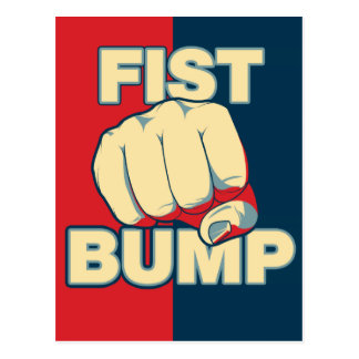 Fist Bump Post Cards