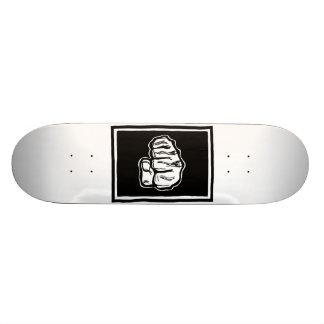 Fist Bump skateboard design by ParanormalPrints