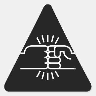 Fist Bumps Ahead! Stickers