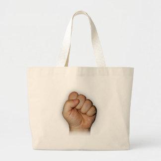 fist canvas bag