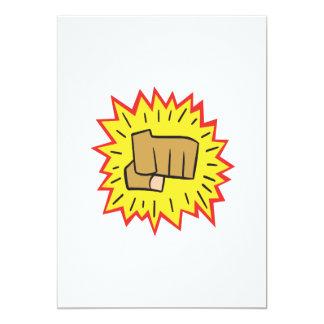 Fist Card