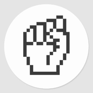 Fist Cursor Sticker