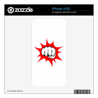 fist decals for the iPhone 4S