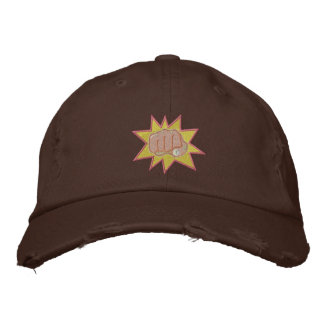 Fist Embroidered Baseball Cap