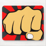 Fist Mouse Pad