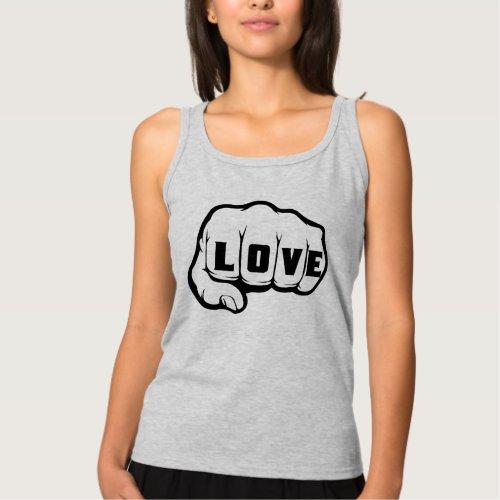 FIST OF LOVE TANK TOP