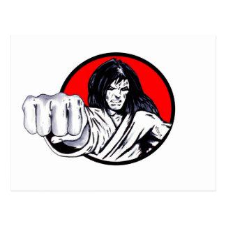 Fist of Revenge Postcard