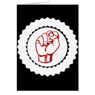 Fist Political Gifts Card