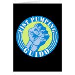 Fist Pumping Guido Card