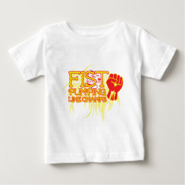 Fist Pumping Like Champs Baby T-Shirt