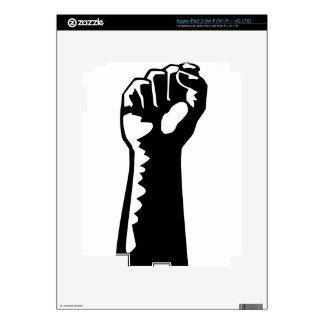 Fist Raised iPad 3 Skin
