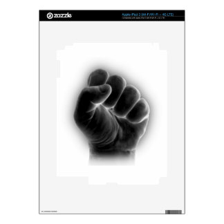 fist decal for iPad 3