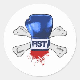 Fist T-shirt Stickers