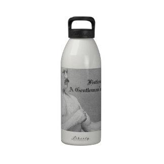 Fisticuffs: A Gentleman's Tradition Reusable Water Bottle