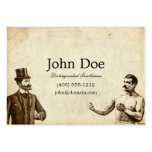 Fisticuffs Calling Card Large Business Card