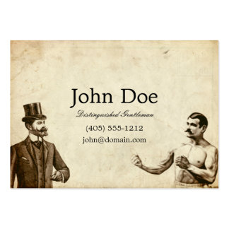 Fisticuffs Calling Card Large Business Cards (Pack Of 100)