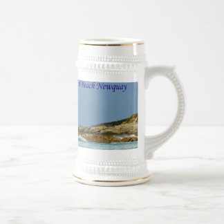 Fistral Beach Newquay Cornwall England Beer Stein