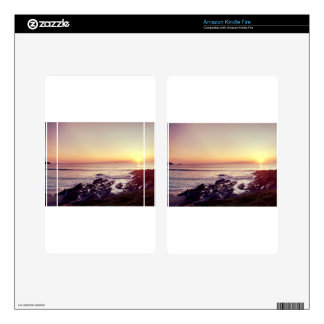 Fistral Beach Sunset Kindle Fire Skin