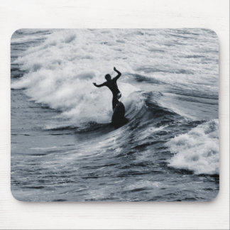 Fistral Surfing, Newquay, Cornwall, UK Mouse Pad