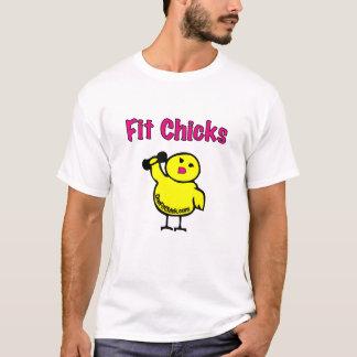 Fit Chicks EDUN LIVE Eve Ladies Essential Crew T-Shirt