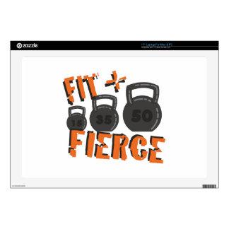 """Fit & Fierce 17"""" Laptop Decal"""