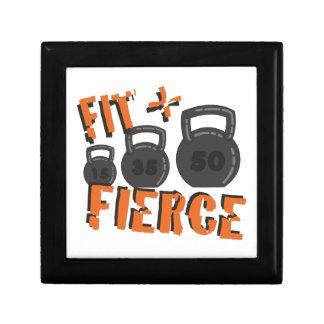 Fit & Fierce Jewelry Box