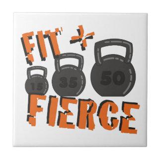 Fit & Fierce Tile