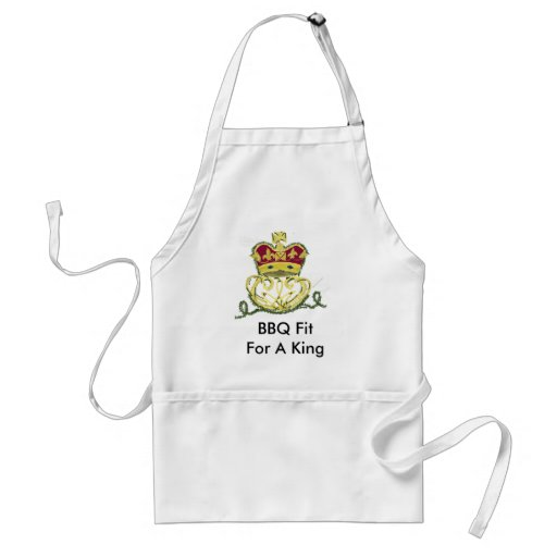 Fit For A King Apron