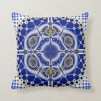 Fit for a King Throw Pillow