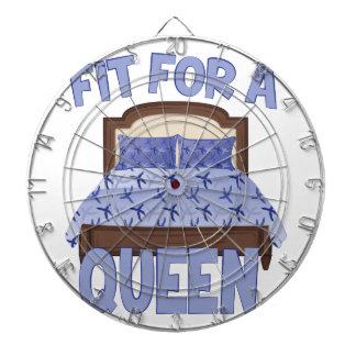 Fit For Queen Dartboard