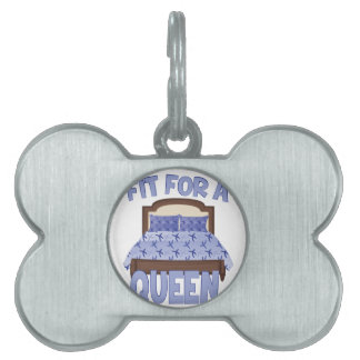 Fit For Queen Pet ID Tag