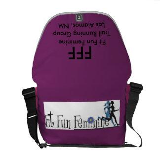 Fit Fun Feminine Messenger Bag