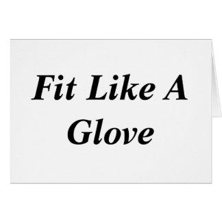 Fit Like A Glove Card