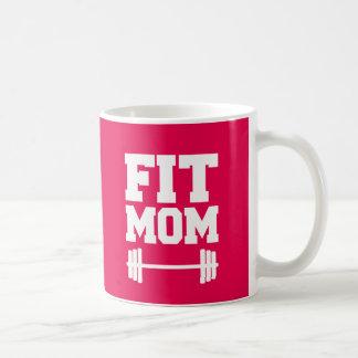 Fit Mom Funny fitness workout coffee mug