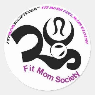 Fit Moms Feel Marvelous! Sticker