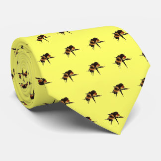 """Fit to """"Bee"""" tied Neck Tie"""