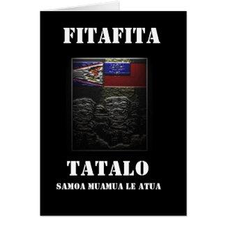 FITAFITA TATALO CARD