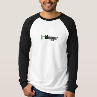 """FitBlogger"" Long sleeve Raglan Men's tee"