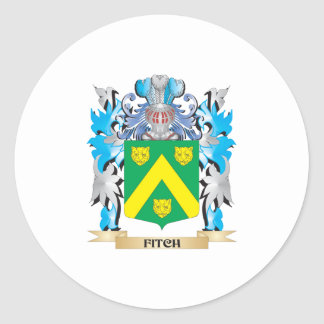 Fitch Coat of Arms - Family Crest Classic Round Sticker