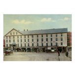 Fitchburg Massachusetts American House Hotel Posters