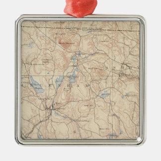 Fitchburg, Massachusetts Metal Ornament