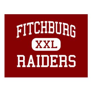 Fitchburg - Raiders - High - Fitchburg Postcard