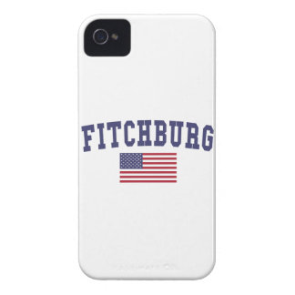Fitchburg US Flag iPhone 4 Cover