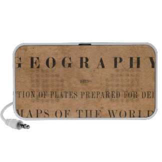 Fitch's mapping plates iPhone speaker