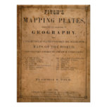 Fitch's mapping plates poster