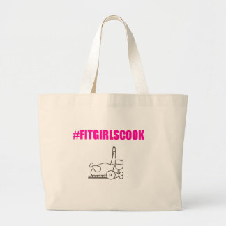 FitGirl Grocery Tote Bag- Large Jumbo Tote Bag