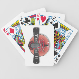 Fith Street Radio Playing Cards Standard Index