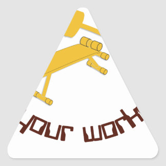 Fitness 1.png triangle sticker