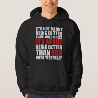 Fitness and Bodybuilding Motivation Hoodie