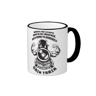 Fitness and Bodybuilding Motivation Coffee Mugs